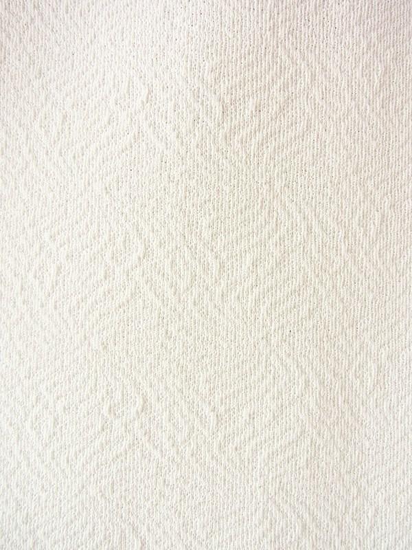 ヨーロッパ古着 ロンドン買い付け 70年代製 オフホワイト X 凹凸でパターンの浮かぶ生地 ヴィンテージ ワンピース 19OM902